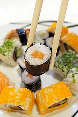 Berlin  Deutschland  Sushi
