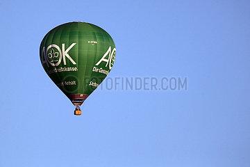Magdeburg  Deutschland  Heissluftballon