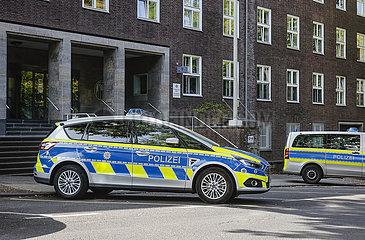 Polizeipraesidium Essen  Polizeiwache Muelheim  Ruhrgebiet  Nordrhein-Westfalen  Deutschland