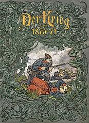 Der Krieg von 1870-71  Buch  1895