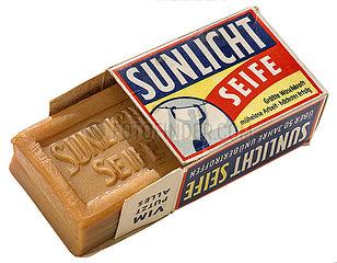 Sunlicht Seife mit original Verpackung  1955