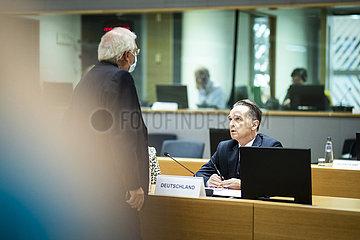 Aussenminister Maas beim EU-Aussenrat
