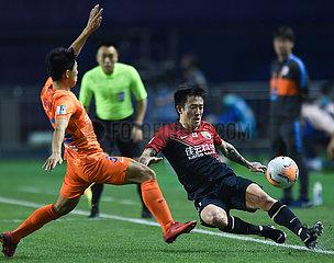(SP) CHINA-DALIAN-FOOTBALL-CSL-Shenzhen Ruby VS SHANDONG luneng (CN)
