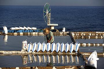 LEBANON-ANFEH-SALT-PRODUCTION