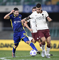 (SP) ITALY-VERONA-FOOTBALL-SERIE A-HELLAS VERONA VS ROMA (SP) ITALY-VERONA-FOOTBALL-SERIE A-HELLAS VERONA VS ROMA