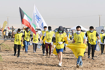KUWAIT-Jahra GOVERNORATE-CLEANUP-KAMPAGNE