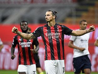 (SP) ITALY-MILAN-FOOTBALL-SERIE A-AC MILAN VS BOLOGNA