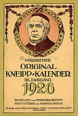 Kneipp-Kalender  1926