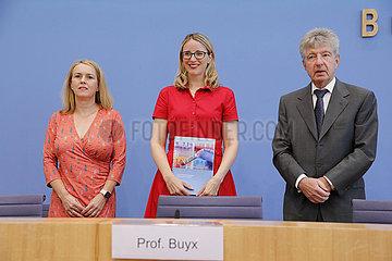Bundespressekonferenz zum Thema: Ethikrat - Immunitaetsbescheinigungen