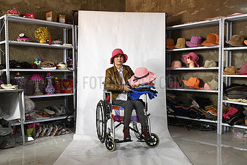 CHINA-NINGXIA-YINCHUAN-PARALYZED VILLAGER-POVERTY RELIEF (CN)