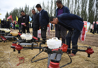 CHINA-NINGXIA-CHINESE FARMERS' HARVEST FESTIVAL-AGRICULTURAL MACHINERY (CN)