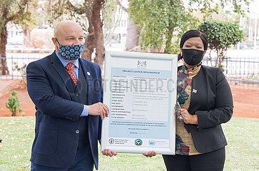 BOTSWANA-GABORONE-FAO-Bodendegradation BEWERTUNG PROJECT