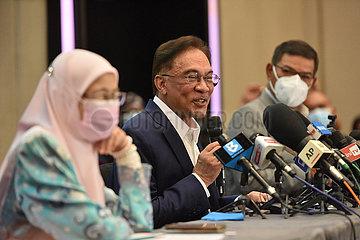 MALAYSIA-KUALA LUMPUR-POLITICS-Anwar Ibrahim