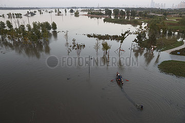 CHINA-HEILONGJIANG-HARBIN-SONGHUA RIVER-FLOOD DANGER (CN)