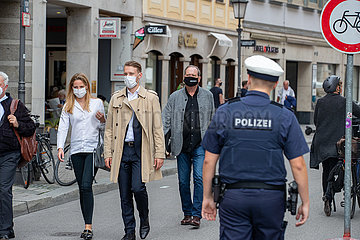 Maskenpflicht in München eingeführt