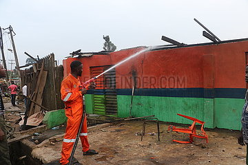 NIGERIA-LAGOS-Gastanker-EXPLOSION