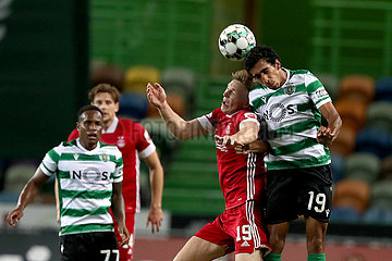 (SP) von Portugal-LISSABONNER-FOOTBALL-UEFA-EUROPA LIGA-QUALIFING-SPORTING CP VS ABERDEEN FC