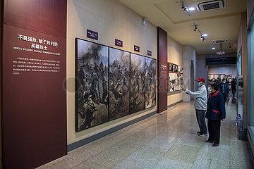 CHINA-SHANXI-Schlacht von Pingxingguan-MEMORIAL HALL-Jahrestag (CN)
