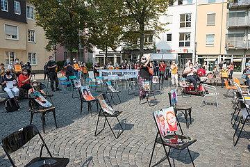 Seebruecke - Wir machen Platz - Kundgebung