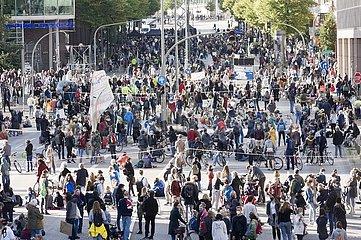 FfF Kundgebung  Hamburg