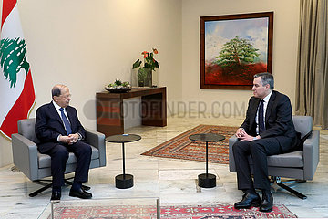 LIBANON-BEIRUT-PM DESIGNIERTEN