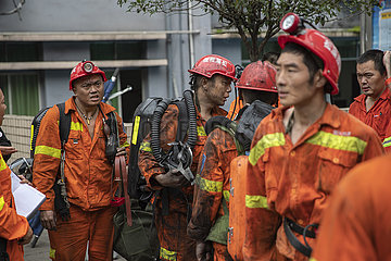 CHINA-CHONGQING-COAL MINE-Unfall (CN)