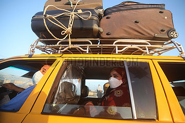 MIDEAST-GAZA-Grenzübergang Rafah-WIEDERERöFFNUNG