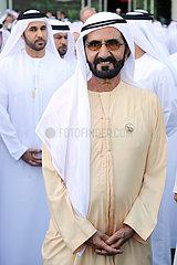Dubai  Vereinigte Arabische Emirate  Scheich Mohammed bin Rashid al Maktoum  Oberhaupt des Emirats Dubai
