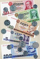 DDR Geld  1975