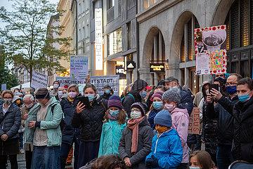 Christliche Kundgebung gegen Abtreibungen