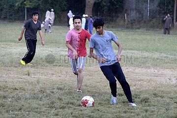 PAKISTAN-ISLAMABAD-FUSSBALL-PAKISTAN-ISLAMABAD-FUSSBALL