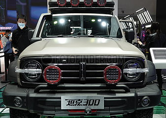 CHINA Beijing-AUTOMOTIVE Ausstellung (CN)