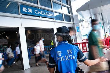 CHINA-MACAO-NATIONALTAG HOLIDAY-ZUBEREITUNG (CN)