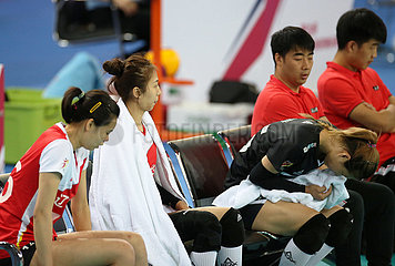 (SP) CHINA-JIANGMEN-VOLLEYBALL-CHINESE Frauenmeisterschaft (CN)