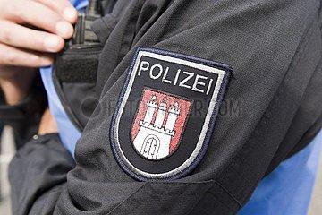 Polizeiwappen von Hamburg