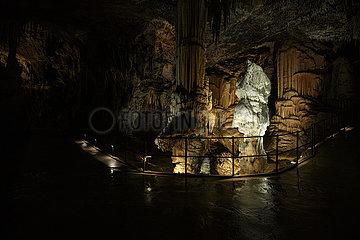 SLOWENIEN-Grotte von Postojna