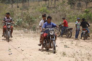 BRASILIEN-Maranhão-COVID-19-Indigenous People-MEDICAL CARE