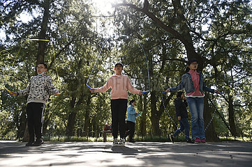 CHINA-PEKING Deshengmen Feiertag (CN)