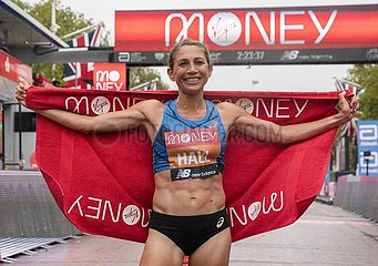 (SP) BRITAIN-LONDON-LONDON MARATHON-ELITE Frauen-Rennen