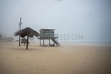 MEXIKO-YUCATAN-CANCUN-GAMMA-tropischer Sturm