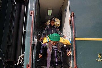# CHINA-SICHUAN-Liangshan-REMOTE AREA-TRAIN (CN) # CHINA-SICHUAN-Liangshan-REMOTE AREA-TRAIN (CN) # CHINA-SICHUAN-Liangshan-REMOTE AREA-TRAIN (CN)