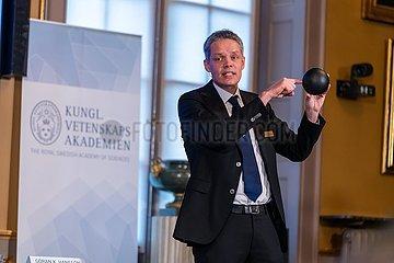 SCHWEDEN-STOCKHOLM-NOBELPREIS-PHYSIK