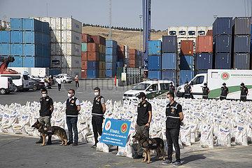 TÜRKEI-ISTANBUL-kokain SEIZURE