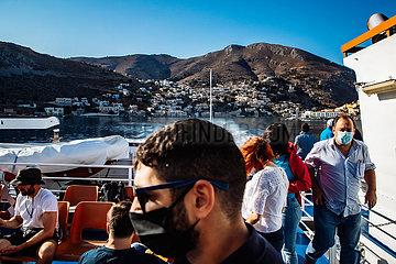 Symi  Insel der Dodekanes