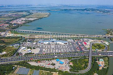 CHINA-JIANGSU-SUZHOU-NATIONALTAG HOLIDAY-YANGCHENGHU DIENSTGEBIETS (CN)