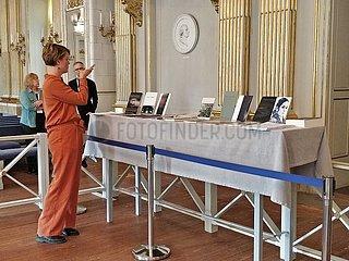 SCHWEDEN-STOCKHOLM-NOBELPREIS-LITERATUR-AMERICAN POET Louise Glück