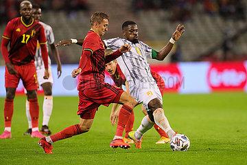 (SP) BELGIUM-Brussel-FOOTBALL-Testspiel-BELGIUM VS COTE D'IVOIRE