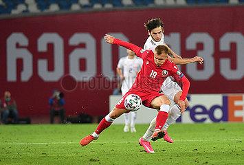 (SP) GEORGIA-Tbilissi-FUSSBALL-UEFA-Europameisterschaft-QUALIFIERS