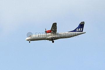 Hannover  Deutschland  ATR 72 der Fluggesellschaft Scandinavian Airlines