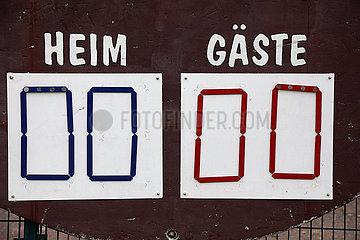 Berlin  Deutschland  Spielstand von 0:0